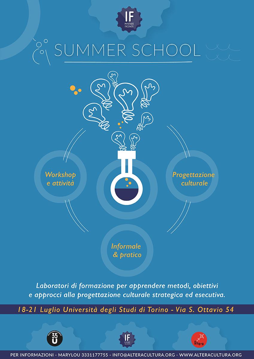 IF Summer School 2017 - Ciclo di laboratori operativi su ideazione e realizzazione di eventi culturali e di promozione sociale. 18-21 luglio 2017