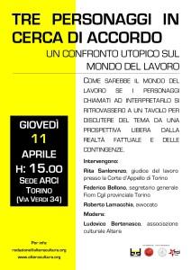 Per Biennale Democrazia 2013: Tre personaggi in cerca di accordo