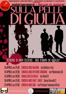 Teatro Forum Biennale Democrazia-Sulla pelle di Giulia