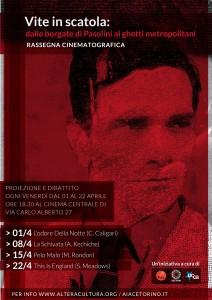 Vite in scatola: dalle borgate di Pasolini ai ghetti metropolitani – rassegna cinematografica