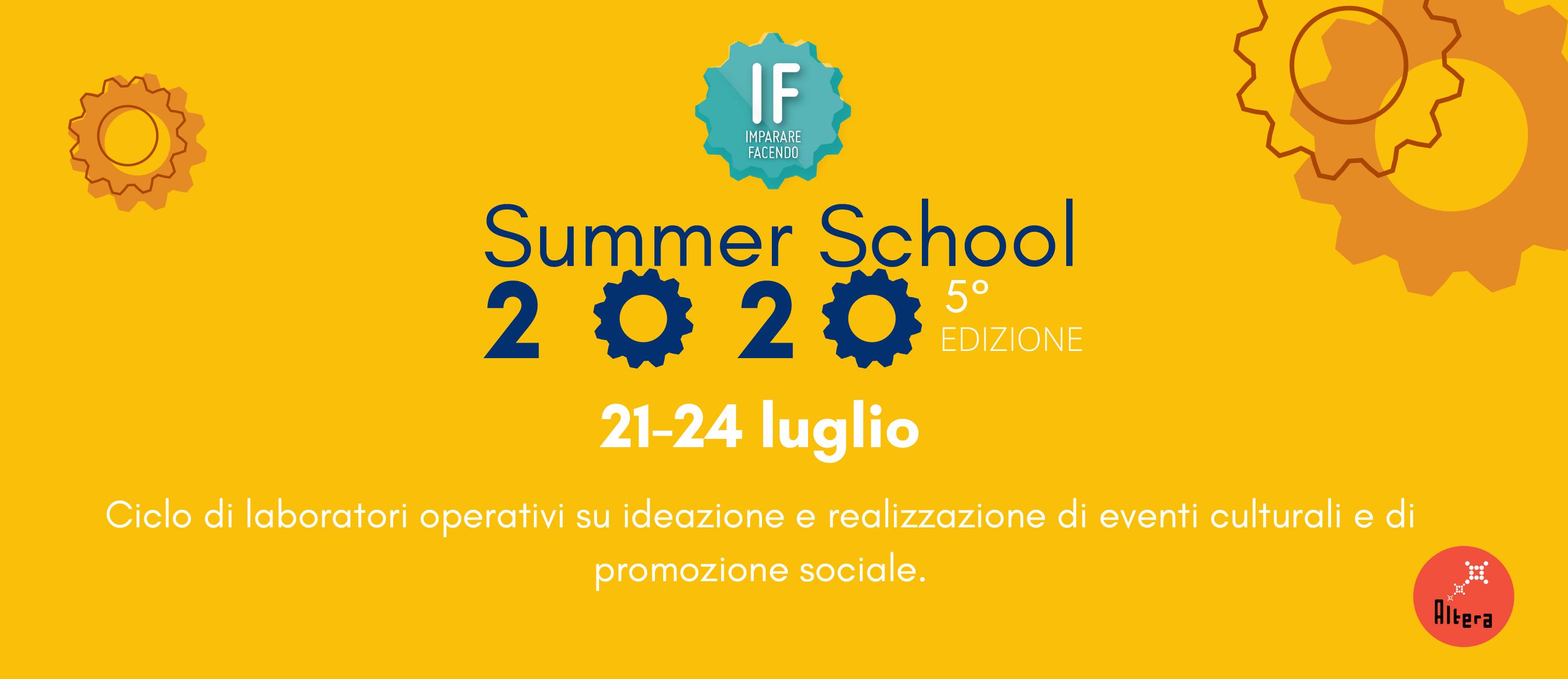IF – Summer School 2020 / 5° edizione