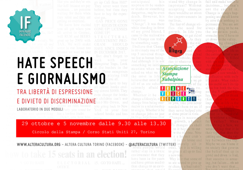 IF – HATE SPEECH E GIORNALISMO 2020