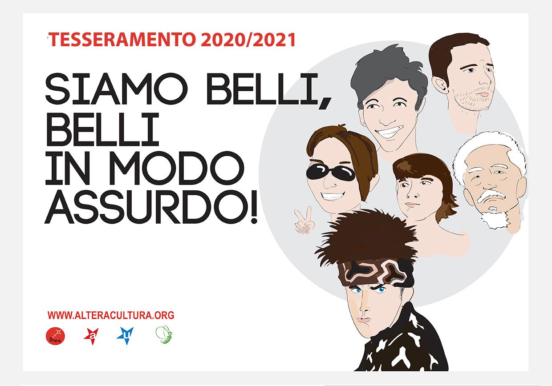 Tesseramento Altera 2020 – 2021