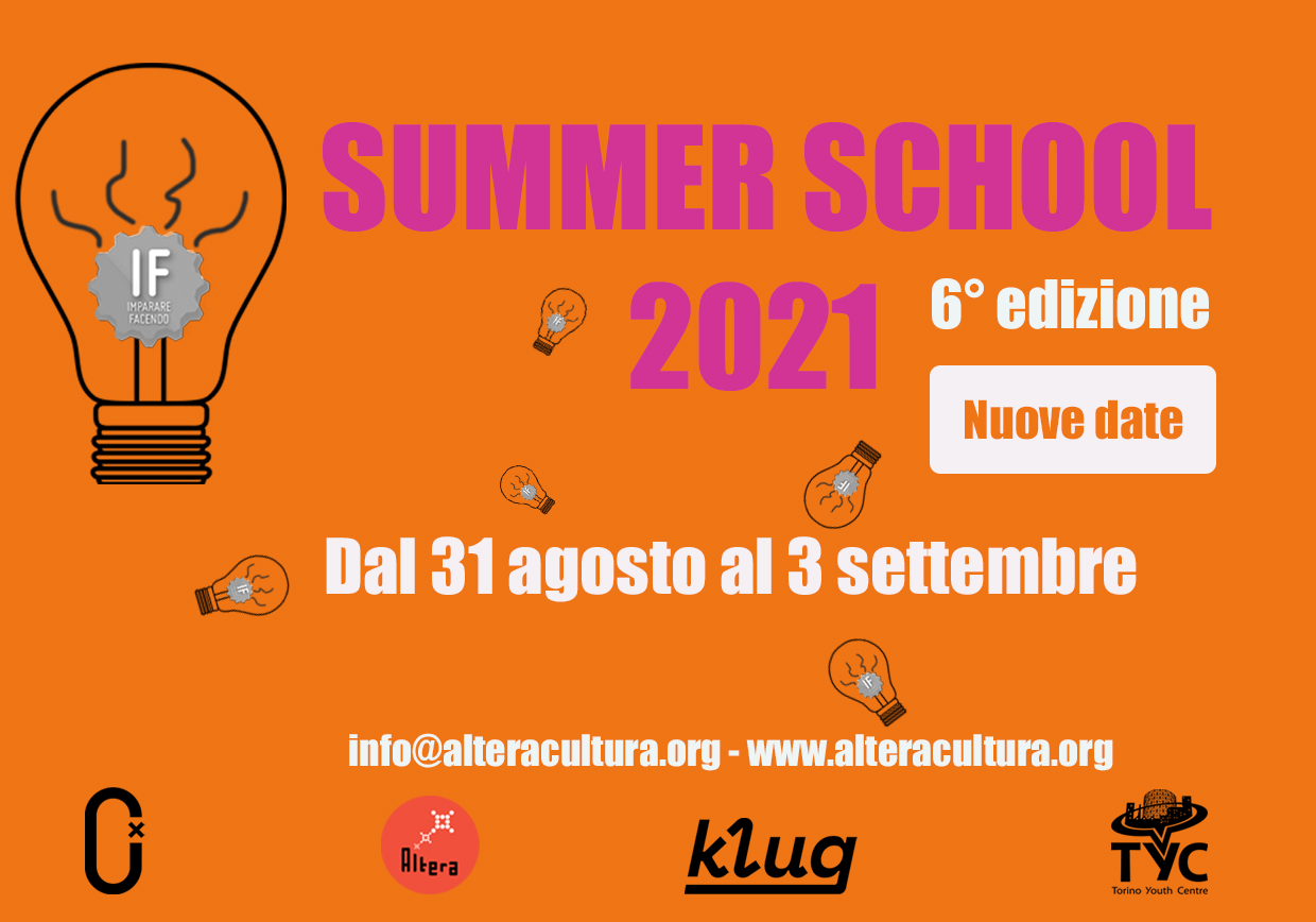 IF - SUMMER SCHOOL 2021 / NUOVE DATE