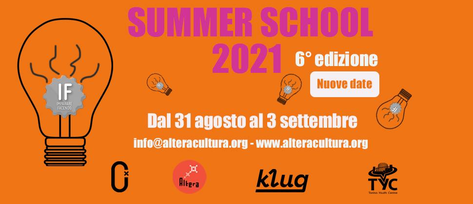 IF – Summer School 2021 / 6° edizione NUOVE DATE