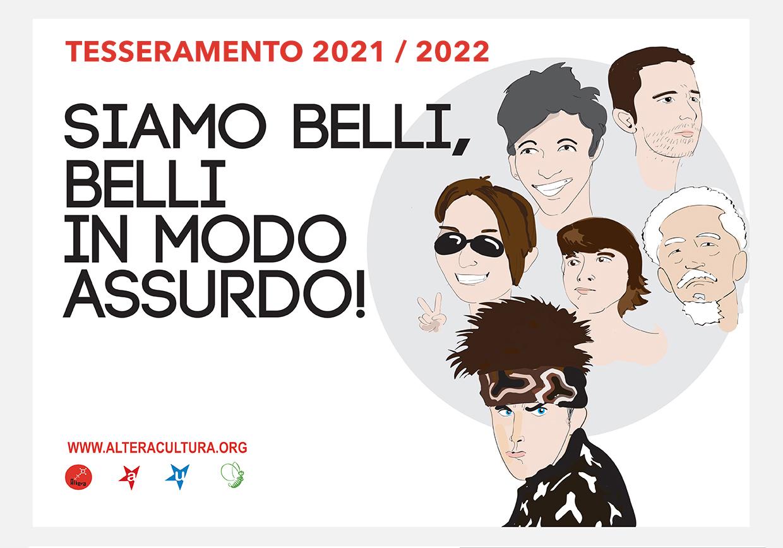 Tesseramento Altera 2021 – 2022